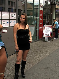 BEST OF EUROPE Angelica Heart Big Tits, Public Bondage, and Humiliation : Everyones favorite Euro Slut Angelica Heart returns to Public Disgrace. Zenza Raggi and Harmony Rose take her on a tour of the city that involves lots of public bondage, public nudity, public fucking, blowjobs, BDSM and more!!! The final scene at the Curry Stand is one of my personal favorites. If public exhibitionism and humiliation is what gets your cock hard, you wont want to miss this shoot.