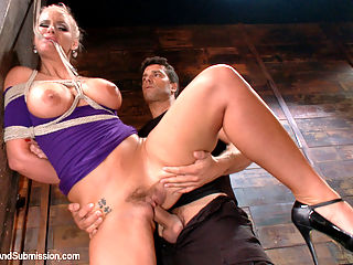The Claiming of Phoenix Marie : Sexy Phoenix Marie submits beautifully in hard bondage and rough sex!