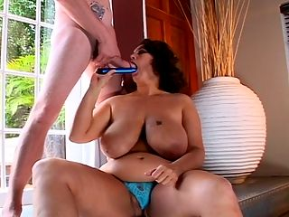 XL Origins : Flashback to Dusty Rose, a woman whose hobby was watching lots of porn. She thinks about sex constantly and said she looks at a guys junk first, then wonders how hung he is. Shes a bi-sexual who enjoys playing with women. In a one-on-one with a male, she likes being the dominant member. Dusty doesnt have any interest in passive gentlemen. The best guy for her is a sex-driven, macho man with a big prick who knows how to handle dominant women.br br In this two-part video, Dusty talks about big tits, BJs, sex toys, B.O.B. her battery-operated boyfriend, jerking off, being watched and raunchy, nasty sex. She plays with her trusty vibrator in one segment, then Dusty keeps chatting with a cock in her mouth while she toys her hole. Only a strong dude can keep up with this wild woman.