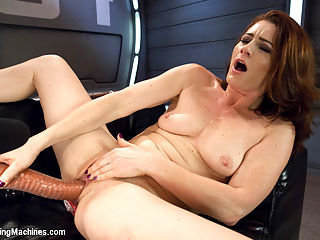 Cici shows us the power of her orgasms from ass and pussy FuckingMachines : Cici Rhodes really wears her orgasms on her sleeve, well her nakes arm anyway. She cums loud, proud and often with the help of our custom fucking machines. Cici plays with our alien dicks as a warm up and then gets down to business first with the Shock Spot and then moving on to our bigger guns that have her surprised and cumming in no time. Shes particularly fun to watch on the Satisfyher as the big dong pumps her pussy from directly below. If you have not already watch it, go back to our Christmas Bonus update and watch Cici ride the Sybian - now thats sexy entertainment!