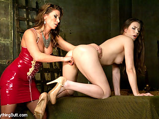 Trial by Ass fucking. Bewitched Asshole gets a medieval punishment : Ariel X catches Casey red handed trying to seduce the prison guards with her ass play. Casey is spread wide open so Ariel can do the proper investigation for a witch hunt. Only if the Ass Gapes Wide, Gets pounded, Fisted and Shot with hot loads of cum, will Ariel know if Casey is innocent of being a witch. Caseys ass is spread open with a speculum, licked clean by her domme. Shes fucked in stocks and gets a hot load busted onto her perfect ass. She gets fisted and uses her charm to seduce her domme so she can return the fist and ass fucking. A Cum enema will prove Caseys innocence.