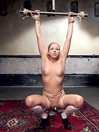 Zoeys Anal Review : Gorgeous all natural slave in training Zoey Monroe is turned over to slave trainer Ramon Nomar for a day of anal slave training, predicament bondage and squirting orgasms.