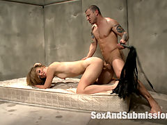 Anal Slut Mona Wales Submits to Rough Orgasm Treatment : Mona Wales has an issue only Mr. Pete can fix. She seeks to submit to the roughest brutal orgasm treatments. Gagged and suspended in rope bondage, this slut learns how to take a rough fucking and corporal punishment. Mona is flogged, shocked, and strapped to an extreme spiked torment chair. This anal slut screams for orgasms!Thank You Doctor!