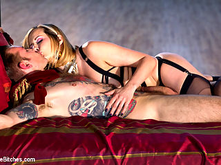 A Devoted Man Real Love, Real Consent, Real Kink : Ive decided to bring my real life partner to Divine Bitches! In this insanely hot femdom scene I invite you into my personal bedroom to see what its like to fuck me in my personal life. I bare all with my partner, Will Havoc, and show you what its like to live with a dominatrix full time and just how intense our sexual appetite can be! Our chemistry is on fire! This is a once in a lifetime chance to see me demand how I liked to be fucked and demand him to impregnante me! Not to me missed!xo,Maitresse Madeline Marlowe