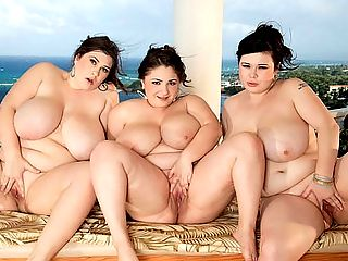Fantasy Girls : Our Fantasy Girls Jennica Lynn and Roxanne Miller are looking for Lavina Dream and as they look down from the second-floor of their vacation house, they see Lavina on the terrace. Shes naked and getting busy, one hand squeezing a big tit, the other hand rubbing and rubbing her horny little pussy.br br The girls watch with enjoyment and mounting excitement. They both drop their tropical dresses and stand there while Lavina is oblivious to their presence, lost in her whirlpool of pleasure.br br Jennica and Roxanne slide the terrace door open, interrupting Lavinas playtime. Having been caught with her hand in the cookie jar, she stands up to greet her friends. Roxanne speaks in Romanian to Lavina who replies while Jennica, a Swedish beauty living in the UK, looks puzzled. What are they talking about, Jennica wonders.br br What Lavina and Roxanne are talking about is their desire to give Jennica a full body massage with lots of oil. They want to feel Jennicas big 34M-cup tits and ass and sink their little fingers into her soft, smooth skin. They want to rub their big boobs all over Jennicas body and feel their nipples hardening.br br Jennica has no objections to that! And afterwards, all three will go for a skinny dip in the swanky pool. When girls join XL Girls, they get nothing but the best. Great underwater camerawork of submerged tits and butts are just some of the highlights of this scene, also available on DVD in XL Girls On Location, a two-disc set.br