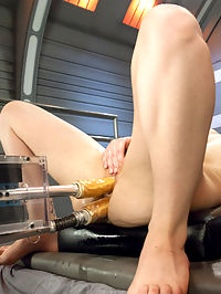 Dicks o Plenty for Juliette March : No hole barred from this fuckfest with the sensational Juliette March. She takes every big dick we have and at speeds most girls dont even drive their cars at. Shes a true sex sport as she shoves, cocks into her pussy and ass, cums and asks for me. We set a cock goldilock goldicock?! forest for her to choose from and she makes her way around from the King Kong Dong, to the custom baseball bat, to a fierce fucking with what we call The Baby Seal. Juliette finishes the day with a hot double penetration fucking from two different machines. Watch this hot babe give her all in the name of cumming. This shoot is AWESOME!