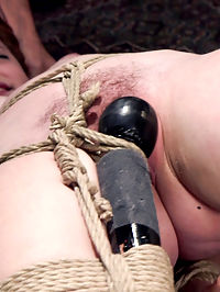 Help Me Understand The Pain - Amarna Miller, Day One : Gorgeous red-head submissive pain slut Amarna Miller wants to be tied up and flogged before you fuck her, but she does not understand why. Amarna learns the connection between her masochism and her pussy in this opening day of slave training.A devastating inverted blowjob covers the trainees face in spit and drool. Then a strict strappado fuck with hard nipple clamp play. Her tits bounce painfully as her pussy is rammed. A painful rope suspension tests the depth of her tolerance, and she is finished off with a rough sex scene that leaves her exhausted, delighted, and covered in come.