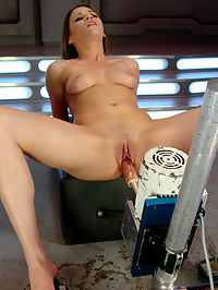Young Hot Newcomer Gets a Fucked Hard : This first timer is a super hot babe with lots of potential. We let her warm up her sweet pussy before we start the fucking. Once it starts we see this innocent girl next door turn into one hell of a slut. She cant get enough, so we finish her off with a sybian ride.