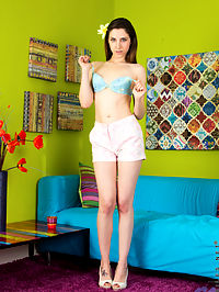 Nubiles.net Deena D - Sexy girl next door with small perky tits spreads her ass open : Sexy girl next door with small perky tits spreads her ass open