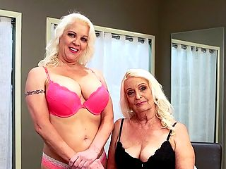 Veronica Vaughn is a mom, and Vikki is her daughter! : Now for something completely different, meet Vikki and Veronica Vaughn.br br No, theyre not sisters.br br Veronica is 49 years old.br br Vikki is 65 years old.br br Were a real mother-daughter porn team, Veronica says at the start of this interview, in which mom and daughter are wearing bra and panties.br br Yes, mother and daughter. Not step-daughter. Biological daughter. Weve had mother-daughters in our studio XL Girl Nikki Smith and 40Something Barbi Banks, 50Plus MILF Jessica Sexxton and her daughter, but weve never had a GILF mom and MILF daughter. Until now.br br And get this Mother and daughter fucked while they were in our studio. No, they didnt fuck each other. They fucked a porn stud. At separate times, of course, but we will tell you that Mom was in the dressing room while Daughter was fucking in the studio and Daughter was in the dressing room while Mom was fucking in the studio.br br And they both fucked the same guy! On the same day!br br Okay, check out the interview. This keeps getting better.
