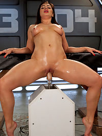 Big Toys, Fast Machines, and Anal Fisting!! : When Lea Lexis tells us she wants to get fucked by our machines, we are more than happy to make it happen. She peels off her clothes to expose her sultry body, warms up her pussy with an explosive orgasm, and then we get to it!She is known for teasing people on other sites, but today we are the ones controlling the orgasms. She takes on our strongest machines and it seems that she just cant get enough. We stand her up, lay her down, and bend her over in doggy, all with some of the biggest toys we have. She even uses our fist attachment to stretch her ass for some proper anal fucking.
