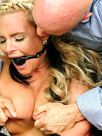 The Daily Grind : When a spoiled trophy wife Phoenix Marie acts out to get more attention from her career minded husband, she turns to seducing the help. But when her husband catches her fucking another man, he snaps and takes his revenge out on his beautiful cheating wifes ass. Derrick Pierce disciplines his cheating wife with rough sex, anal pounding in tight bondage, nipple clamps and ripping orgasms.
