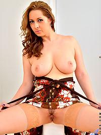 Anilos.com Dariaglower - Big tit MILF teases her cock hungry twat : Big tit MILF teases her cock hungry twat