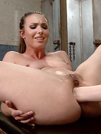 Deep and Wide Lesbian Anal Perverts Ella Nova and Casey Calvert : Casey Calvert doesnt waste any time. From the moment she sees Ella Nova do anal masturbation, she jumps in and shoves her fist in. Not only can Ella Nova take a big fat wide fist in her ass, She can take the long alien like slink deep into her ass. Ella Gapes so great for Casey. Casey rewards Ella by letting Ella fist her back. Both girls get fisted and cum hard.