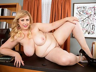 New Discovery : Obviously a business meeting with new XL Girl Lila Lovely would leave you exhausted and drained yet happy and satisfied. This scene is irrefutable proof of that claim.br br All the way from Wisconsin, blonde Lila has creamy skin and corn-fed looks and big boobs 40F-sucklers. She says modeling is the most-fun thing shes ever done and like no other lifestyle shes ever had before.br br Back home, Lila goes for walks at the beach with her two dogs, goes to concerts, does yoga and watches the Green Bay Packers. Wed expect no less from a Wisconsin girl.br br I can buy my bras straight off the rack, says Lila. I usually buy underwired bras from Torrid. I like to wear low-cut tops or V-necks to emphasize my breasts. Torrids a clothing chain for plus-sized women.br br Says Lila, I get a lot of attention and it used to make me uncomfortable but now I own it. Lucky for XL Girls fans, Lila now likes all the attention and the exposure modeling brings. Lots of exposure. Lila has all the hot moves as this video reveals.