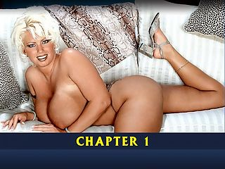 Ultimate Dawn Stone Chapter 1 : North Carolinas Dawn Stone modeled for seven years at iSCOREi and sailed on two Boob Cruises, 1998 and 2000. She was one of the most popular girls with the passengers, using that southern charm of hers with the greatest of ease. Its a guarantee that if you had the opportunity to meet her then, shed have you eating out of her hand within a few minutes.br br A beautiful 411 blonde with big tits and an extremely flexible body, Dawn was a hit from day one. Her trademarked moves included backward bends and putting her ankles behind her head for the ultimate fuck-me pose. Her hyper-flexibility can be seen in many of her pictorials especially the May 2005 sex swing photo set and a Megaspecial collection.br br Off-camera, Dawns music tastes run to Hip-Hop and Rap. Her favorite rap stars are DMX and Jay-Z and she likes DMXs movies. Her favorite perfume is the hard-to-find Vanilla Lace made by Victorias Secret. Her favorite place home. Theres no place like it for Dawn. Shes very family-driven. She wasnt an exotic dancer and never showed any interest in being one even though she was surrounded by many touring feature dancers such as Casey James and Europe Dichan on both Cruises.br br The iSCOREi classic DVD Ultimate Dawn Stone features Dawn in a solo scene, a girl-girl with strapping Nikki Diamond and a rare hardcore scene with cock, plus bonus videos are added of an interview and Dawn in a hotel room masturbating and shaving her pussy. She loves a baldie under her panties.