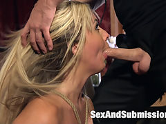 Madelyn Monroes Anal Submission : When gorgeous blonde babe Madelyn Monroe is invited to spend a night with Tommy Pistol, she steps into a world of gritty BDS, sexual submission, bondage and rough anal sex.