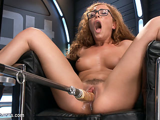 Tanned-Nubile-LA-Cum-Princess, Roxanne Rae Devours Fucking Machines!! : Sometimes girls walk onto our set so starved for a proper fucking that you can sense the hunger oozing from all of their cum holes. From the first moment that Roxanne Rae touches her pussy with a hitachi she unleashes tidal-wave after tidal-wave of tsunami-sized-creamy-orgasms!! Pounded by our fastest robot-fuck-toys she screams again and again in ecstasy, flops to the floor, quickly wiggles back to the machine, and whispers, More... And more is just what she gets after an epic Sybain ride leaves her quivering, panting, and satiated. A hot body, a perfect pussy, and relentless fucking machines can only add up to one thing A PERFECT SHOOT!!