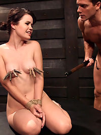 Slave Training Tied Tight and Pounded Hard in the Ass : Submissive slut Yhivi has been training, and is now taking huge dick in her tight ass on Training of O! The beautiful bubble butt babe gives up all her holes to Trainer Ramon Nomar, a stickler for discipline. Yhivi loves her throat fucked too, and Ramon obliges with a cock sucking predicament to make an oral fetishist sploosh their shorts. But when Ramon gets Yhivi tied tight with her gaping asshole up in the air, the submissive anal slut is pounded till her eyes are rolling back in shattering orgasms.