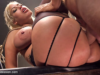 One Last Fuck : When Ramons girlfriend tries to break up with him, he wants her to know what she will be missing and gives her one last hard fuck like she has never had. Big tit blonde bombshell Bridgette B is dragged to the basement and punished before being ass fucked in tight bondage.This update includes bondage, hard spanking, sloppy blow jobs, big tit fucking, hardcore anal sex, pussy fucking in bondage, dominance and submission.