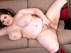 The Buxom Intern : I love anal, says Savana Blue who showed us how much in her first XL Girls banger Breastfest In Bed. I am working on doing a double-anal but I havent gotten there yet. Double-anal? A lot of girls dont do anal at all.br br Savana says shes had several hook-ups with other girls. One of my favorites was with a 60-year-old woman. We had a double-sided dildo and were both sucking a cock while fucking each other.br br Big cocks using me however they want...thats what satisfies me most of all, says Savana, a cam-girl. One of the guys watching her cam cum-show recommended XL Girls and that was how she came to be here. And came hard.