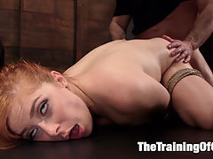 Anal Sex Slave Penny Pax In Service : Penny Pax Pax has endured many days of training and service in the Armory over the years and today she returns to show us what a well trained sex slut she has become. Pax shows of her perfectly shaved submissive pussy and asshole while wearing a tight fitting ball gag before John Strong makes full use of every one of Paxs slutty holes.