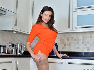 Anilos.com Sensualjane - Big tit MILF spreads her soft pussy lips wide open : Big tit MILF spreads her soft pussy lips wide open