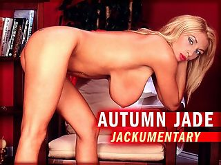 The Autumn-Jade Jackumentary : When iSCORELANDi and iSCOREi magazine did the 20 For 20 20th anniversary contest in 2012, Autumn-Jade was voted the eighth-best girl ever. Two of the legendary girls who preceded Autumn, Linsey 1 and Chloe 4, had made girl-girl videos with her when she visited England.br br This Jackumentary focuses on Autumn-Jades American photo shoots, from playing tennis to poolside to shooting in iSCOREis restrooms. Wherever she was, on-location or on a studio set, Autumn enjoyed herself and made it fun, not work. This shows on Autumns face and in her body language in these clips.br br When the cameras werent pointed in her direction, Autumn was on the shy side.br br I dress very conservatively in public, Autumn said. I dont show my boobs much. I guess theres no hiding these. In the grocery store, there are times where women will look at me and Im like, Why are you looking at me? For the first four or five times with my first boyfriend, I wouldnt take my shirt off. I was embarrassed.br br We called her the ultimate Southern-girl-next-door. Autumn-Jade from Alabama was every inch that girl.