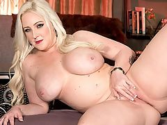 Hot Ass Hollywood : Holly Wood appeared on iSCOREtvi Season 2 Episode 4 talking about the Moonlite Bunny Ranch, her home away from home. Being at the Moonlite Bunny Ranch is incredibly fun, says Holly. Now comes the strapping blonde brickhouses debut pictorial and video.br br Holly has 36DDD tits and is also known for her iBootyLicious ibutt, the reason her nickname is Hot Ass Hollywood. When Holly was at iSCOREi, she also shot a scene for a iBootyLiciousi DVD because of her impressive ass cheeks.br br I always wear form-fitting shirts and dresses. I can never say no to a low-cut shirt or V-neck. I usually wear a bra when Im going out at night. During the day, if Im running around doing errands, I ditch the bras and go free.br br I masturbate daily. I dont know what Id do if my Hitachi ever broke. I can never get enough. I love to orgasm.