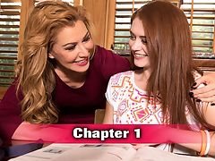 iThe Sex Tutori with Alice Green : Alright, guys. Weve got a special DVD presentation for you, and this one is a doozy. Its on our list of top-selling DVDs of the year, and its on a record pace that doesnt show any signs of stopping. And why would it? Its got a powerful MILF and her horny fellow-MILF friend, tons of naive teens and punky rebels. Its got anal, threesomes, orgies, lesbian action, domination, punishment, crushes and more! Its The Sex Tutor!br br The sex tutor is at it again, and little Alices pussy doesnt stand a chance against this MILFs horny lesson. Alice is the picture of teen succulence with her fresh, dewy skin, natural red hair and slender-yet-budding body. We can see why Sasha wants to debauch her pussy. She pushes the little gingers face into her tits and between her legs and guides her head up and down as she sucks cock. By the end of this lesson, Alice will be the best teen sucker ever. And as if this scene werent already hot enough, Sasha takes it up a notch by guiding the studs dick straight into Alices asshole. Sasha really is the best teacher ever.br