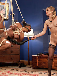 Kinky Call Girl Spanked, fisted, and anally strap-on fucked! : Horny dominatrix Mistress Mona Wales orders up kinky call girl to entertain her sexy sadistic fantasies with spanking, pussy licking, finger banging, suspension bondage, dick on a stick, fisting, pussy and anal strap-on fucking!