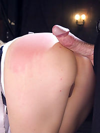 Taking Down a Club Slut : Sultry Dahlia Sky will do absolutely anything to get into an exclusive club, and when she tries to blow the door man she is taken to the back room where she is tied down and fucked mercilessly in the ass till she admits what a scheming whore she really is.