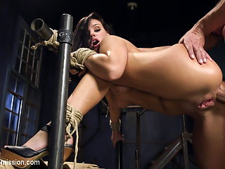 Roxy Rayes Extreme Anal Fisting Submission : Anal queen Roxy Raye is back and ready for everything we can possibly shove in her big beautiful gaping ass. This update is filled with extreme rough anal sex, drooling blowjobs, hardcore bondage, corporal punishment, and anal fisting.