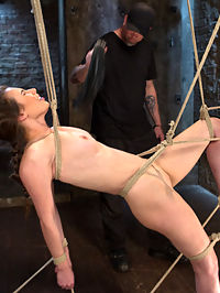 Tough as Nails : Casey is seasoned vet when it comes to BDSM. She does this in her personal life and it makes for a better than average shoot because of it. She is tough as nails and we put her in some of the most grueling bondage on the planet. She suffers through grueling predicaments, a single point waist suspension, brutal crotch rope, and non stop brutality with evil tormenting punishment.