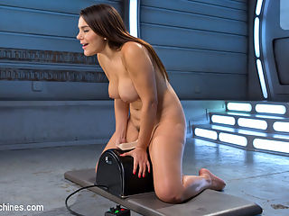 ALL ANAL ALL DAY!!!! : Valentina walks in with a smile and the right attitude. She says she wants her ass fucked all day and we tell her that she came to the right place. She begins with a hitachi on her pussy, and you guessed it, a butt plug in her ass. We set her up with her first machine and we take it slow at first to get her as ready for what will happen next. We crank the machines up faster and faster and fuck her beautiful ass deep and hard. She asks for more and we give her as much as her horny ass can take, which is a lot!!