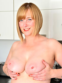 Anilos.com April - Cock hungry mom gets naked and finger fucks her hairy twat : Cock hungry mom gets naked and finger fucks her hairy twat