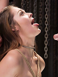 Nora Rileys Anal Slave Training : Gorgeous all natural Nora Riley is a slave girl in the making when she submits her will and all her holes to her trainer in this Training of O update. Hardcore bondage, anal fucking, bondage and pain play are all featured in this update.