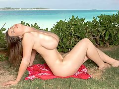 Tropic of Tits : Terry Nova, who, by the way, was born on March 15th, plays under the tropical sun in this double feature video. One of the greatest decisions that Terry ever made was to become a nude model and big-boob porn star back home in Prague, Czech Republic. Her astonishing, brickhouse body was made for the camera. br br Terrys lack of fluency in English was no impediment to her instinctively knowing exactly what to do on-camera. She never needs to be told what to do in her scenes and she has no on-off sexy switch. Shes always sexy in everything she does.br br Terrys tapered down her shoots the past few years but we hope to see her back in action again. Shes just too good to call it quits. br br