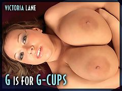 G Is For G-cups : In a shoulda world, Kansas-born Victoria Lane should have modeled for much longer than she did. She had the perfect, 42-32-42 voluptuous body, a pretty and sexy face and a great personality, both off-camera and on. Victoria took to showing off very quickly as this double-feature from the SCORE Archives proves. br br Maybe Victoria picked up some ideas from watching adult videos at home. I love to use a vibrator and a vibrating dildo at the same time when I watch porn, said Victoria. First, a bedroom show and then shes a sex education teacher who tosses her students out of her classroom after catching them doodling sex drawings. Now she can get some serious desk time in and do her own doodling.br