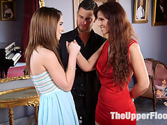 Family Traditions Anal MILF Step-Mother Trains Sons Bride : Syren de Mer is the perfect MILF slave, serving her step-son in her husbands absence, keeping the household and family traditions of anal submission and power hierarchy alive. When Seth brings home his innocent new bride its only a matter of time before the taboo secret is revealed and the dark seduction of Joseline into the family tradition of female sexual slavery begins. As innocent young Joseline is pealed out of her pastel princess dress and placed in tight rope bondage and chains, Syren is the perfect guide, teaching her how to get her throat fucked, beg to cum, do the work of a good fuck, carry trays, take a caning, and demonstrating how to submit to a double fisting like a good anal slave wife.