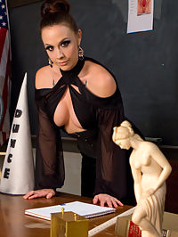 SCUM : Schools in and Chanel Preston gives lesson plans from classic literature, SCUM by Valarie Solanas. If you dont know this book, go out, buy and read it. In the meantime, slave boys, take your cues from Mistress Preston and learn your place in this world. Below her beautiful feet is where you belong, getting trampled by her heels is your privilege! Start admitting you like it in the ass and make a change in this world. Get comfortable with the demise of your maleness and lick pussy. Lots of it. Understand the privilege and do it well, slaves!