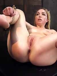 Training an Obedient, Squirting Whore : Zoey Parker wants to be an Obedient Whore for Tommy Pistol. Zoey submits her submissive, shaved pussy to her slave trainer and begs to learn at the tip of his hard dick.