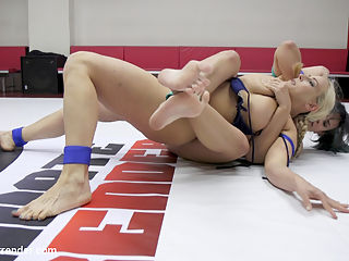 MILF round Robin Erotic WRestling tournament : this is the 2016 MILF tournament. We put Moms Id Like to Fight on the mats to see who is the toughest mommy. Round 1 is Penny Barber vs. Wenona. Round 2 Angel Allwood vs. Penny Barber. Round 3 is Wenona vs. Angel Allwood. Round 4 is Wenona AND Angel vs. Penny Barber. All girls get fucked regardless of if they win or lose. DP acation, Fisting Action. Trib Fucking Action, Spitting and humiliation