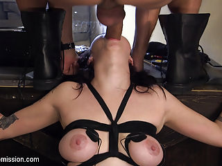 Sexual Interrogation : Kinky slut Vera Drake has a secret and it is Ramon Nomars job to get it. Watch chiseled stud Ramon sexually torment bound and helpless big tit Vera Drake all day long till he finally unloads a fat load all over her pretty face.