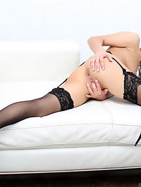 Anilos.com Dominicaphoenix - Sexy MILF spreads her shaved pussy lips wide open : Sexy MILF spreads her shaved pussy lips wide open