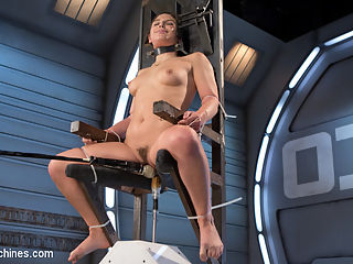 Bondage Slut Gets Fucked Senseless in Rope Bondage : We recently had Abella Danger come to the castle and stay for three days straight. Her journey started here on Fucking Machine, but in typical Abella fashion, she insisted that we tied her up for the scenes. She is put in a variety of bondage positions that have her pussy always exposed and ready for power fucking. We show off her amazing body and fuck her into a babbling cum drunk state.
