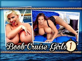 Boob Cruise Girls 1 : Some of the footage in this Caribbean-shot video will be unfamiliar to even the most diehard iSCOREi Man whos seen DVDs, tapes and iSCORELANDi postings of all five of the Boob Cruises. Filmed in 1998, Boob Cruise Girls 1 is a newly edited and remastered-for-web video of SaRenna Lee and Linsey Dawn McKenzie in two separate episodes.br br Boob Cruise 98 marked SaRennas third Cruise, and like in her first two, she was one of the biggest attractions. Lots of guys signed on just to meet SaRenna and she didnt disappoint them.br br Linsey Dawn McKenzie was famous on the Cruise for taking any opportunity to walk around completely naked, much to everyones delight. Nineteen when she sailed on this, her second voyage, Linsey is also a three-time Cruiser 97, 98 and 2000.br br The Boob Cruises had plenty of repeat passengers. The newer guys were always surprised that the photographers scheduled photo shoots so early in the morning. Thats because the first light of day is considered the magic hour for photography.br br Boob Cruise 98 was the biggest of the five. On board were three makeup artists, seven photographers, three videographers, ten Miami iSCOREi staff members and 24 models plus 75 passengers and the ships staff. It took a year to organize. The last one in 2000 scaled back because it had just gotten too big! What do ya expect from guys who love girls with big tits?br