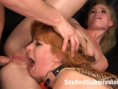 My Slutty Sister : An Anal Taboo movie starring veteran performer Penny Pax with beautiful newcomer Nicole Clitman doing her first anal scene! Seth Gamble dominates both girls through hot anal scenes and BDSM action.When Penny Pax catches her slutty step sister, Nicole Clitman, fucking around with her boyfriend, Seth Gamble, she throws her slutty sister out of her house. But Gamble dominates two girls through a humiliating make up scene while fucking Nicole in the ass for her first anal scene. Penny Pax is there for the nasty ATM and pussy licking action while her slutty sister gets her ass pounded into submission by Seth.Pennys anal scene is amazing as always, with her legs tied wide open giving Seth full access to all of Pennys slutty holes. Nicole writhes in a strict hogtie and takes the ATM action as Seth fucks her sister. Gamble brings it together in the end with explosive dual orgasms for both the girls and fat load of come across both their faces. This movie is all about super hot boy girl girl BDSM action with lots of anal and incest fantasy!