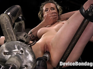 Proven Pain Slut : Casey is a veteran pain slut that can take more than can be dished out because shes such a busy girl. She has a career and cant get the full ass whooping that she wants because marks will keep her from making money. The way we combat that is to push her in other ways like bastinado, breath control, and powerful orgasm overload and denial. She is subjected to all of this while in grueling bondage, but the most impressive is when this slut has a pain-gasm from her feet being whipped.