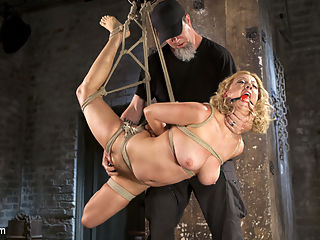 Cherry Torn Returns To Hogtied!! : Cherry is a fucking bondage legend, and we have her back at Hogtied.com!! She is one of the hottest and toughest girls in the industry and even though she has been playing the dominant role on other sites, shes still just a pain slut to us. She is put in grueling bondage and punished with sadistic torment. She suffers so beautifully for all of us to enjoy and this is one of her best shoots to date!!